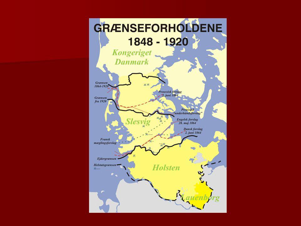 Da det går allerdårligst for DK i krigen foreslår England dog endnu en gang en deling af slesvig i en dansk og en tysk del.