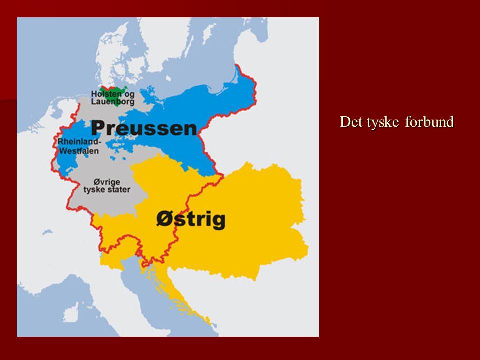 Det tyske forbund Oprørshæren får støtte af Preussen.
