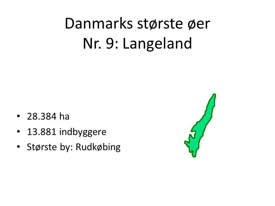Danmarks største øer Nr. 9: Langeland