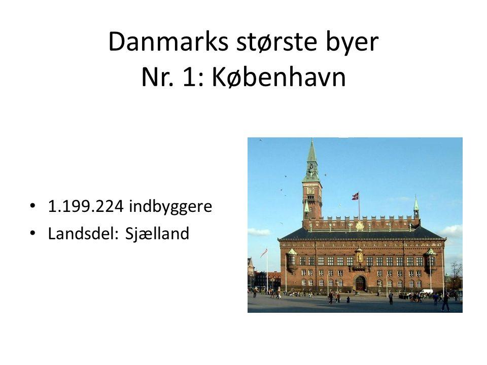 Danmarks største byer Nr. 1: København