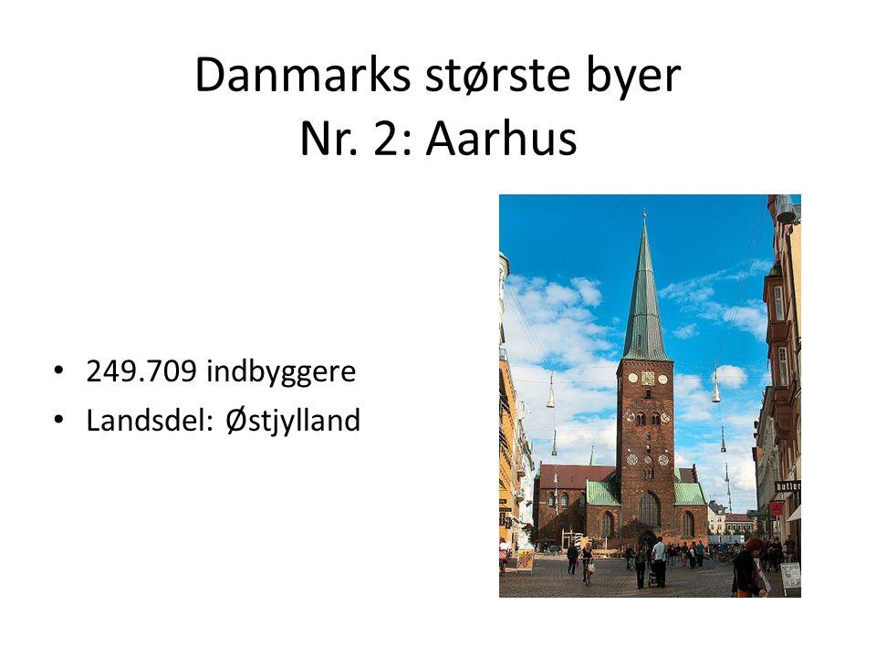 Danmarks største byer Nr. 2: Aarhus