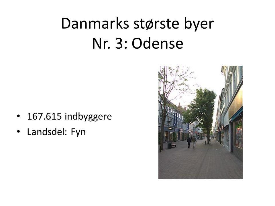 Danmarks største byer Nr. 3: Odense