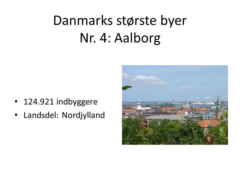 Danmarks største byer Nr. 4: Aalborg