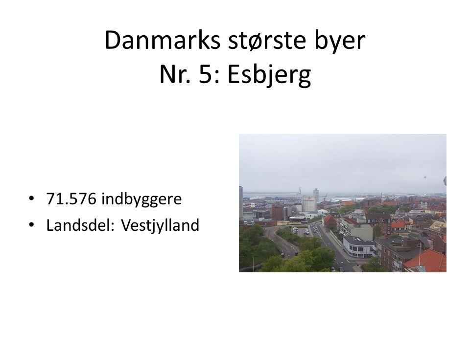 Danmarks største byer Nr. 5: Esbjerg