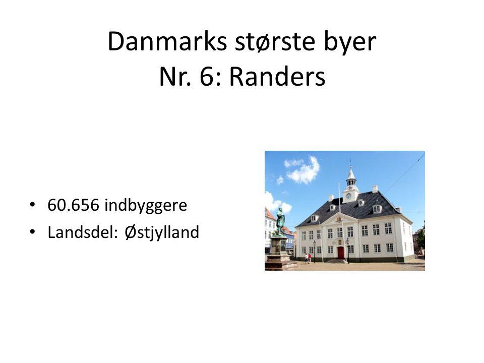 Danmarks største byer Nr. 6: Randers