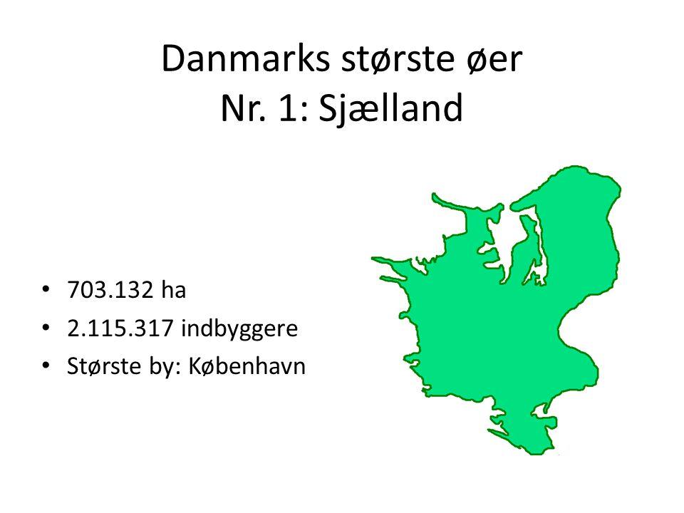 Danmarks største øer Nr. 1: Sjælland
