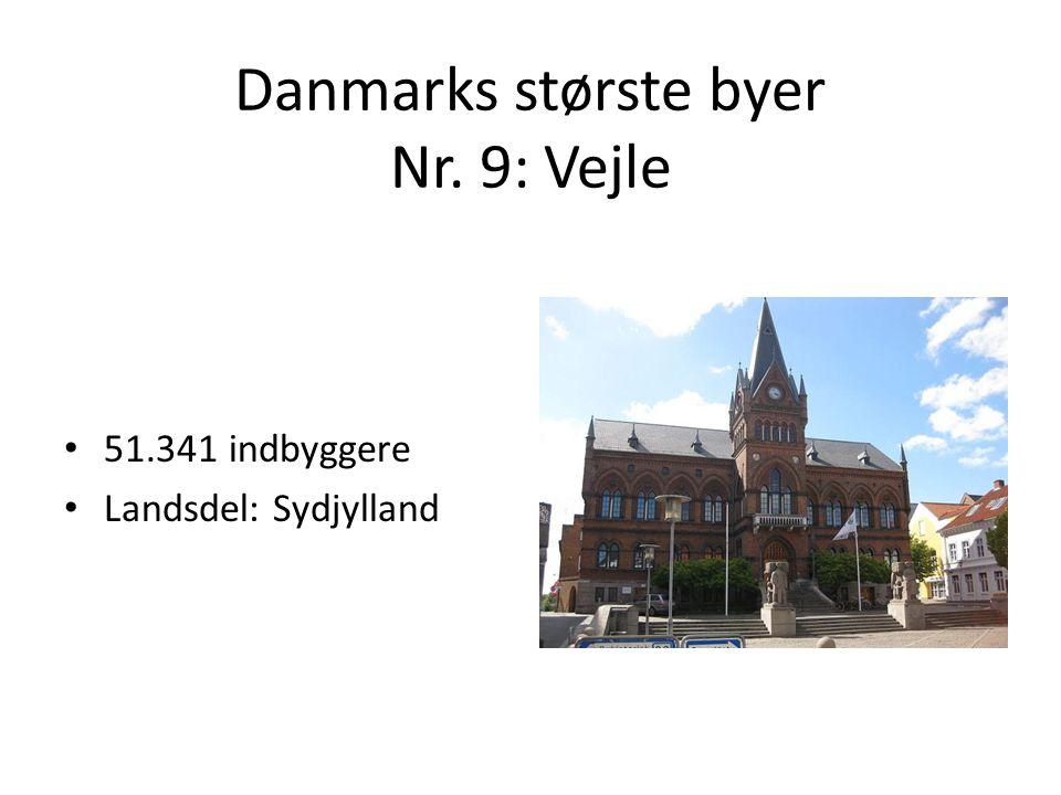 Danmarks største byer Nr. 9: Vejle