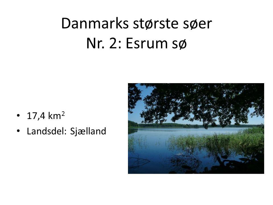 Danmarks største søer Nr. 2: Esrum sø