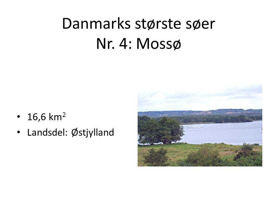 Danmarks største søer Nr. 4: Mossø