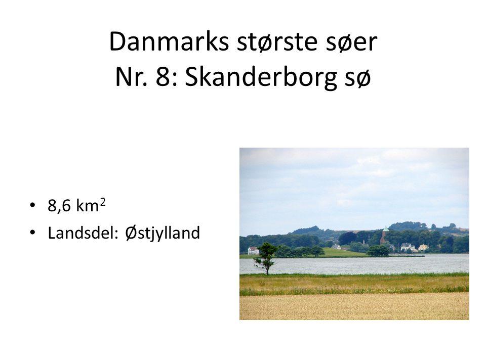 Danmarks største søer Nr. 8: Skanderborg sø