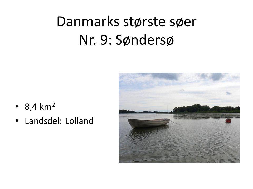 Danmarks største søer Nr. 9: Søndersø
