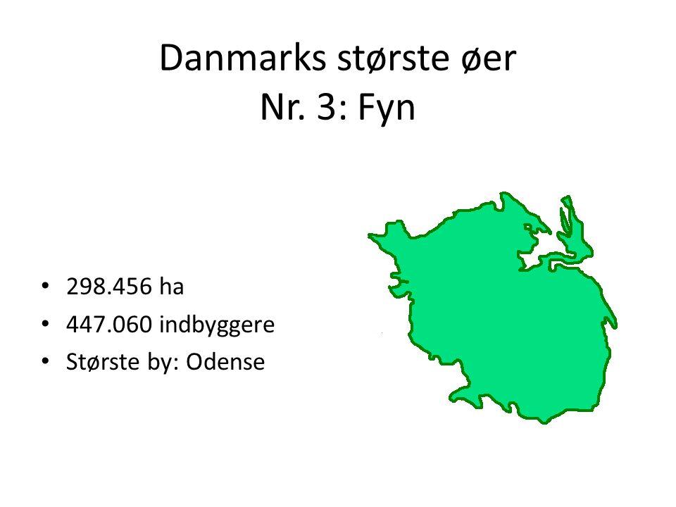 Danmarks største øer Nr. 3: Fyn