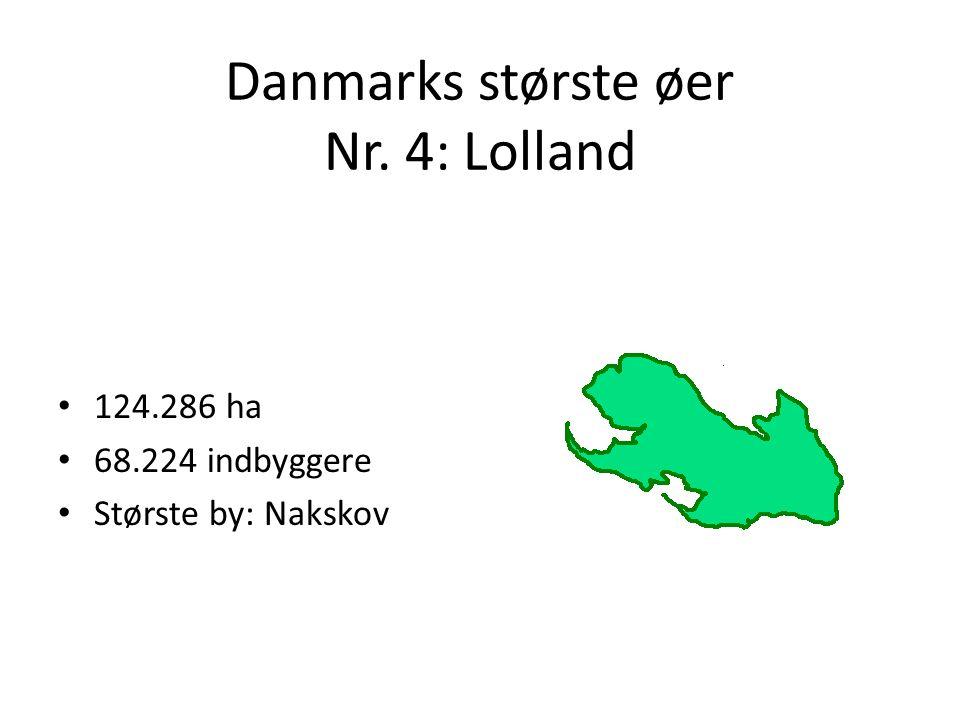 Danmarks største øer Nr. 4: Lolland