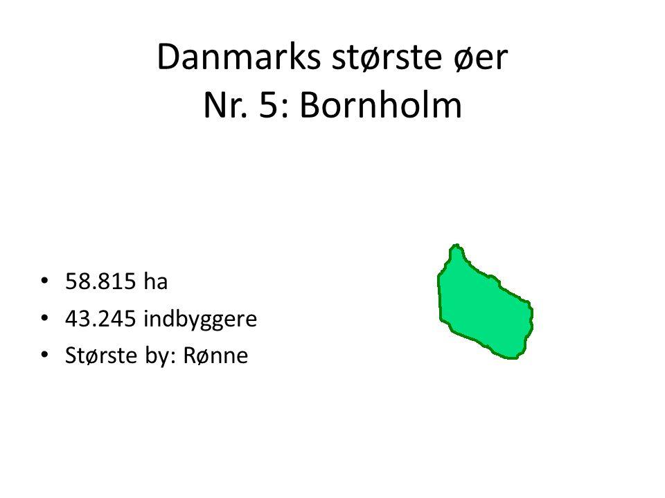 Danmarks største øer Nr. 5: Bornholm