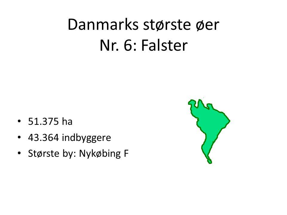 Danmarks største øer Nr. 6: Falster