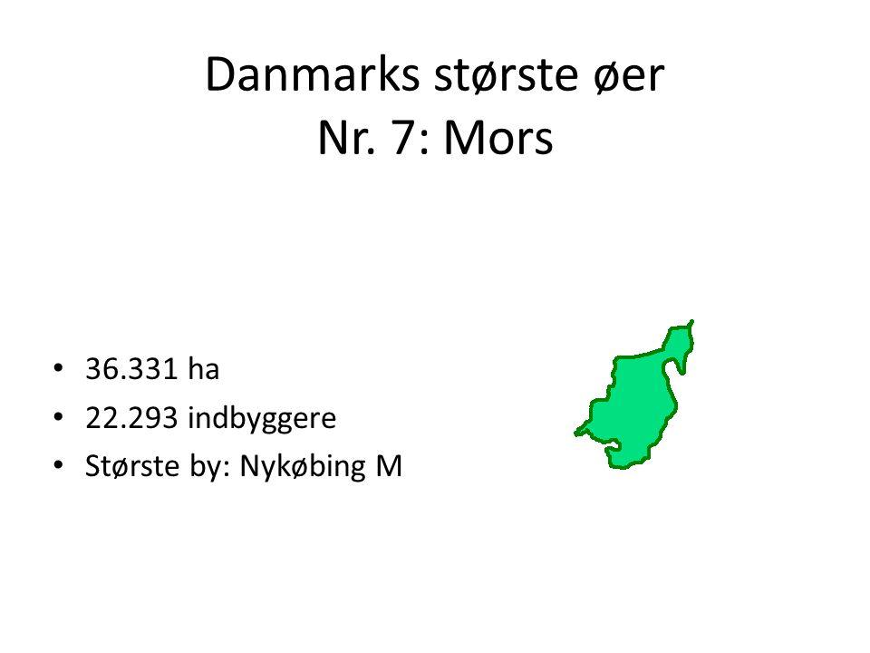 Danmarks største øer Nr. 7: Mors