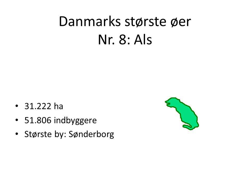 Danmarks største øer Nr. 8: Als