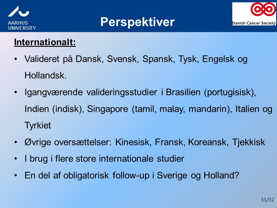 Perspektiver Internationalt: