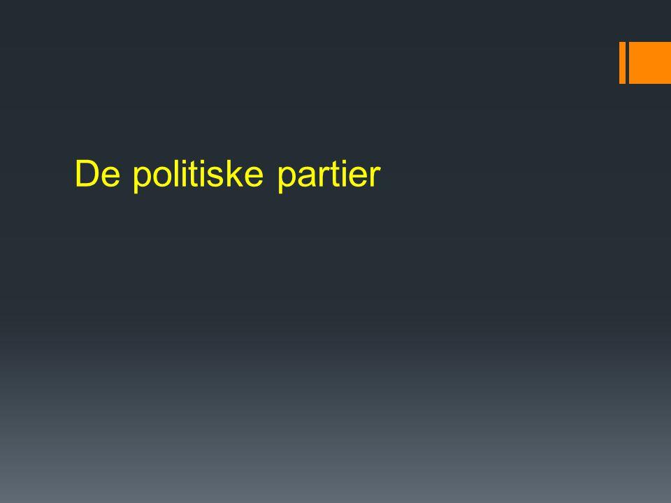 De politiske partier