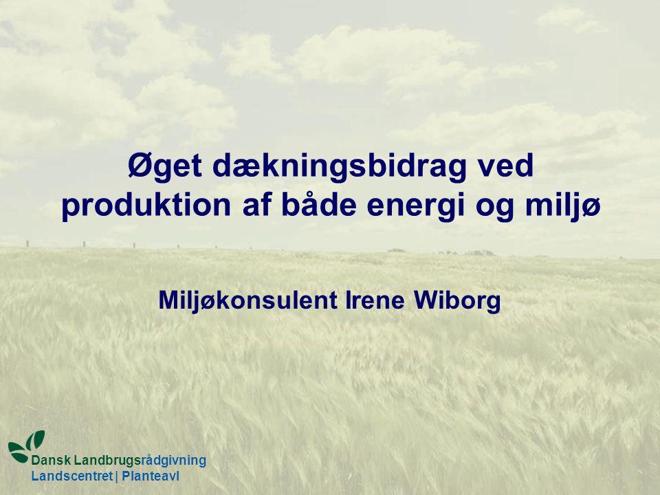 Øget dækningsbidrag ved produktion af både energi og miljø