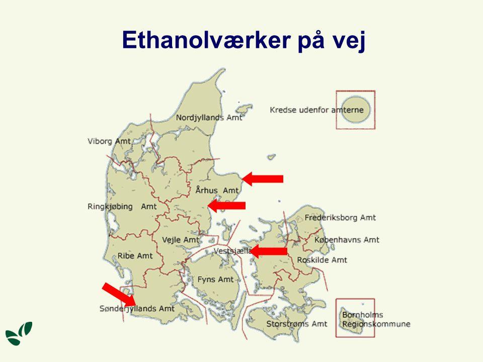 Ethanolværker på vej Sønderjysk Landboforening har projekteret et anlæg.