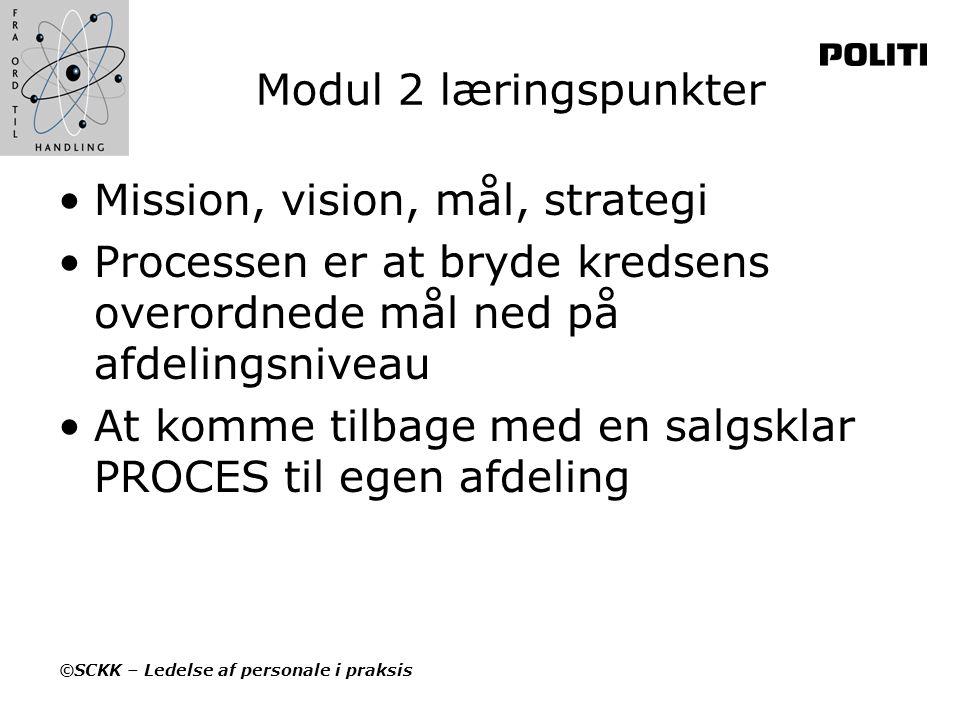 Mission, vision, mål, strategi