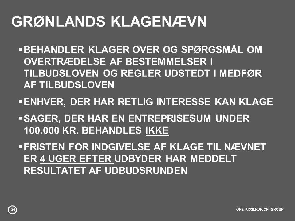 GRØNLANDS KLAGENÆVN