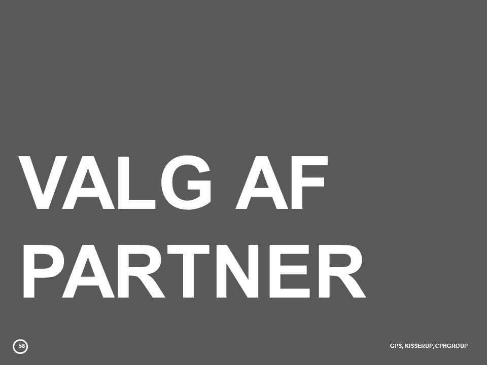 VALG AF PARTNER 58 GPS, KISSERUP, CPHGROUP