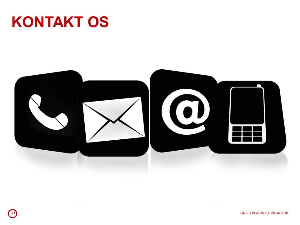 KONTAKT OS 71 GPS, KISSERUP, CPHGROUP