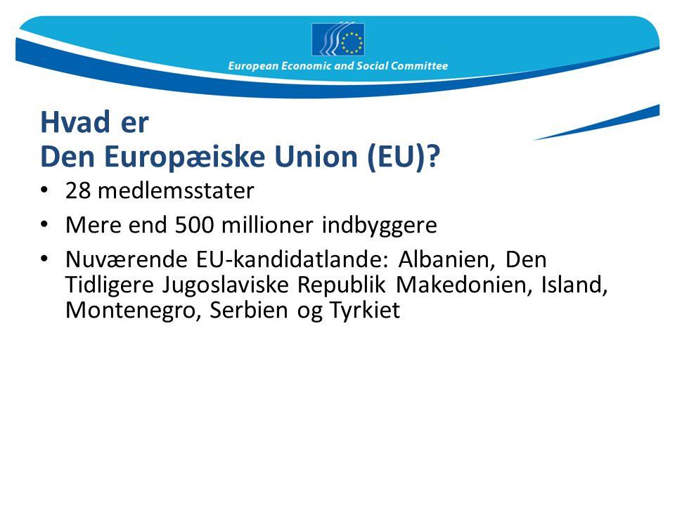 Hvad er Den Europæiske Union (EU)