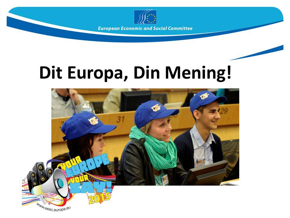 Dit Europa, Din Mening!