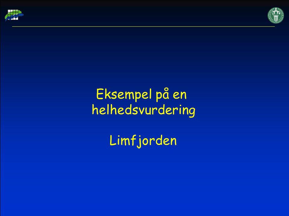 Eksempel på en helhedsvurdering Limfjorden