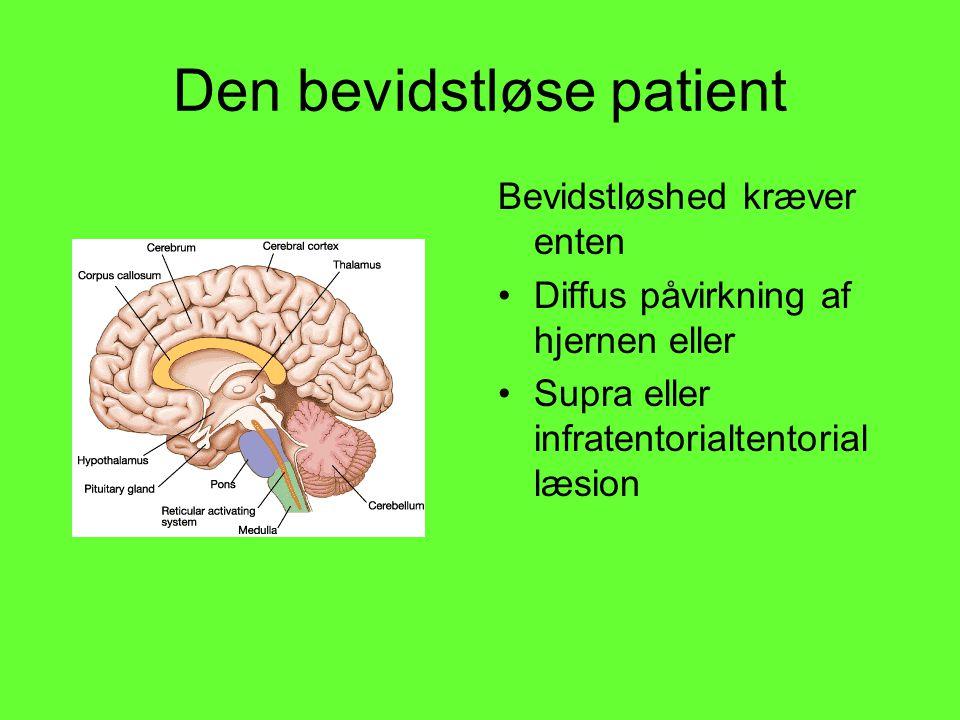 Den bevidstløse patient