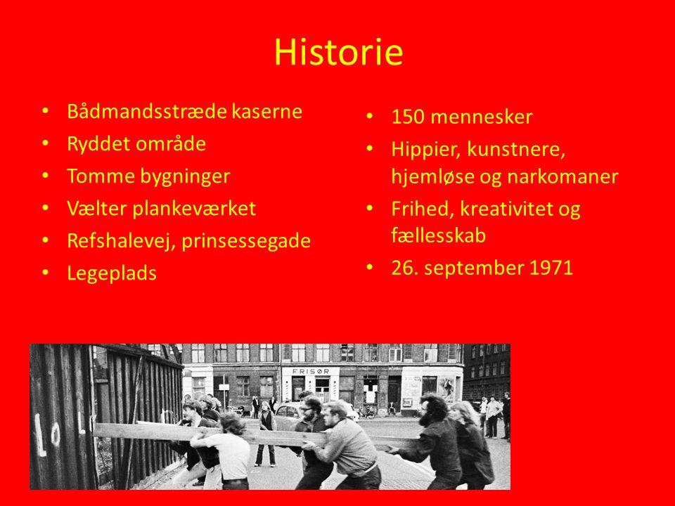 Historie Bådmandsstræde kaserne Ryddet område Tomme bygninger