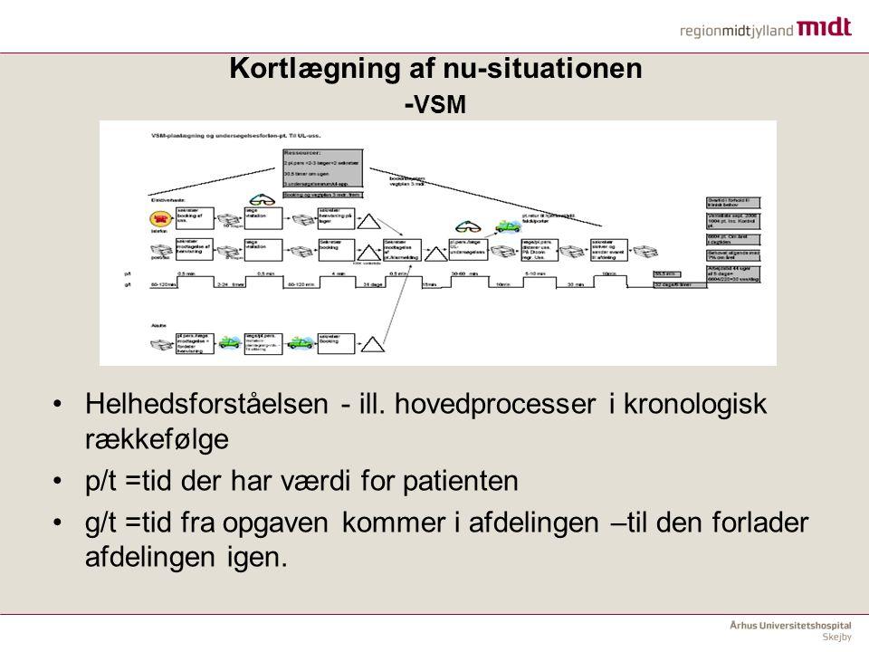 Kortlægning af nu-situationen -VSM