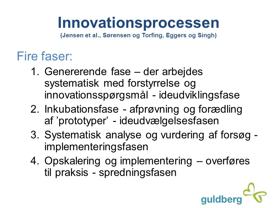 Innovationsprocessen (Jensen et al