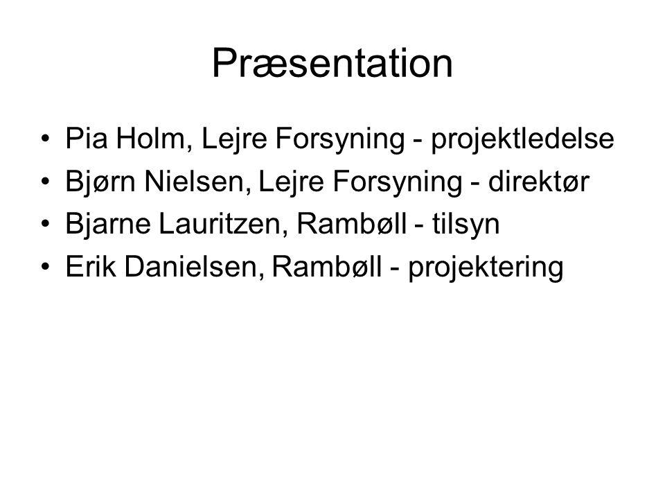 Præsentation Pia Holm, Lejre Forsyning - projektledelse
