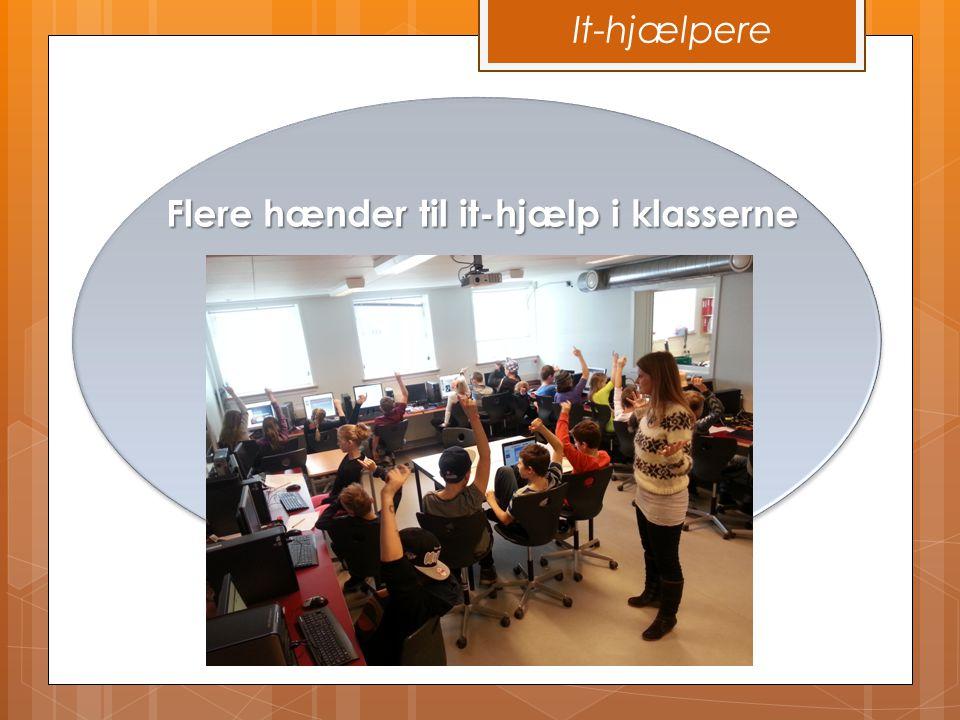 Flere hænder til it-hjælp i klasserne