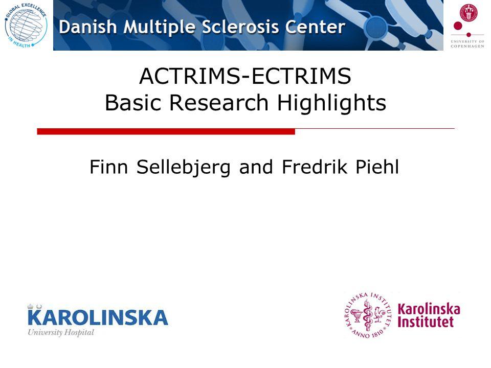 ACTRIMS-ECTRIMS Basic Research Highlights