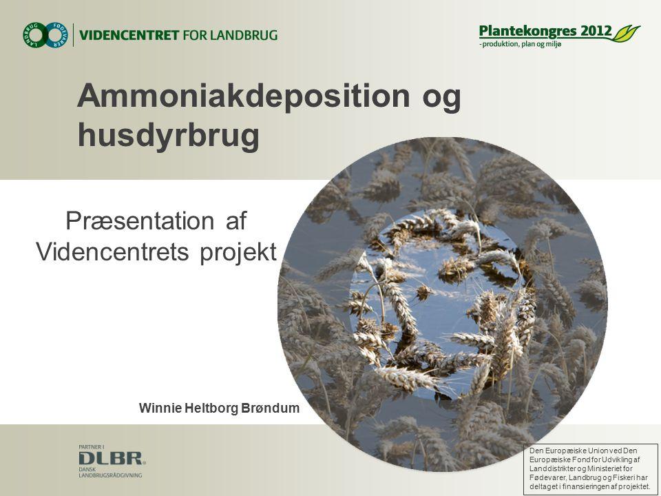 Ammoniakdeposition og husdyrbrug