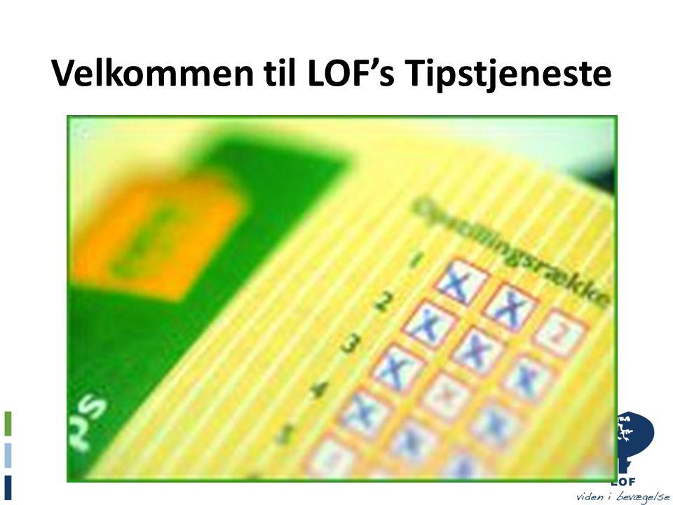 Velkommen til LOF's Tipstjeneste