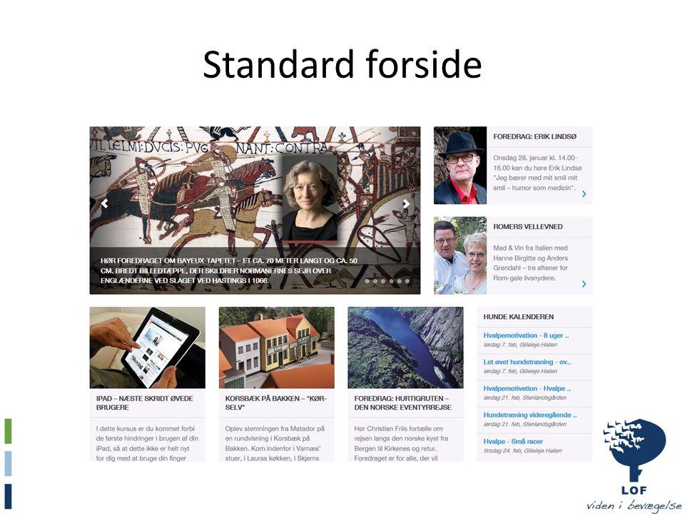 Standard forside