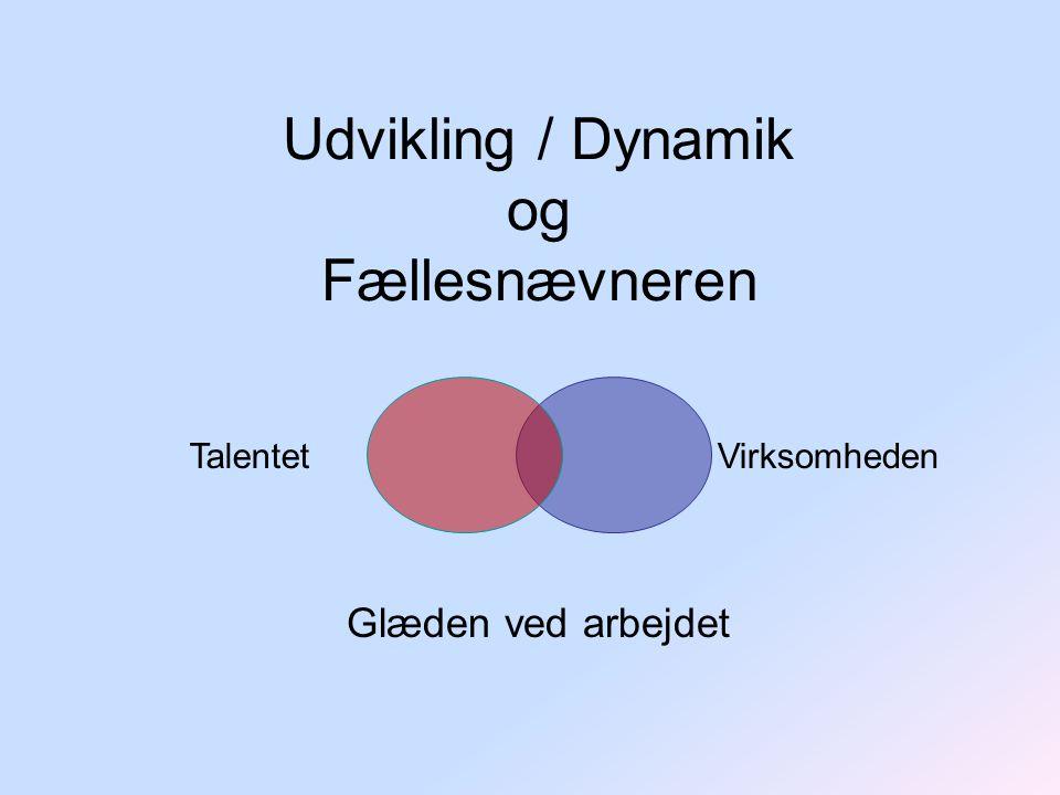 Udvikling / Dynamik og Fællesnævneren