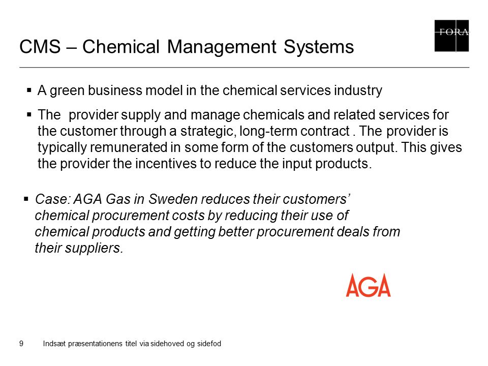 CMS – Chemical Management Systems