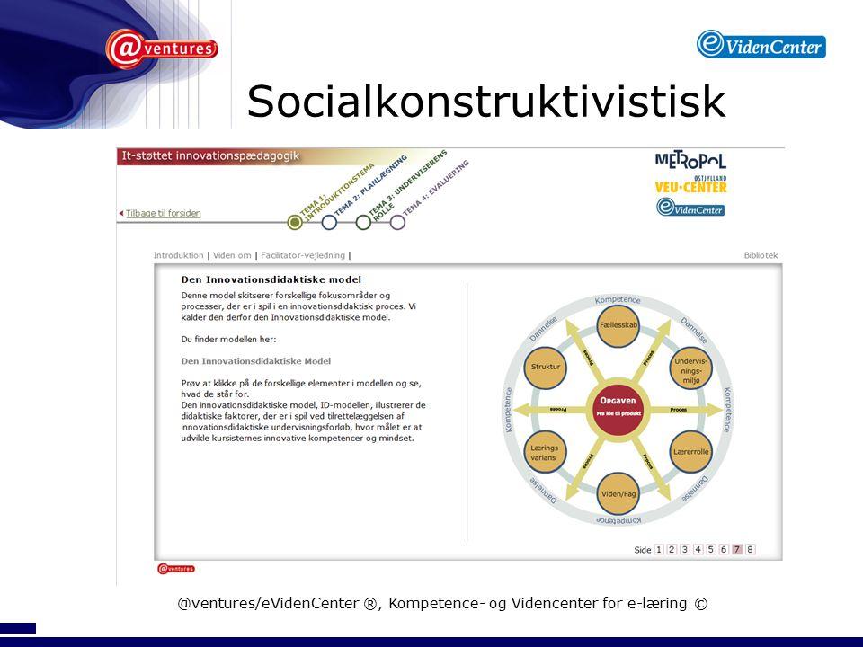 Socialkonstruktivistisk