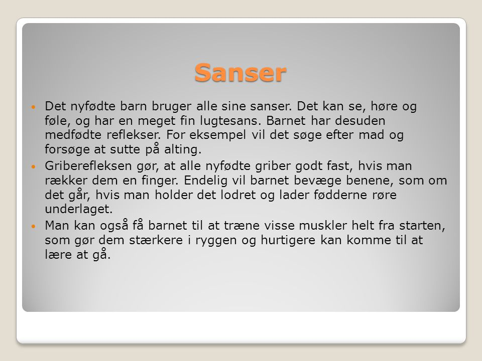 Sanser