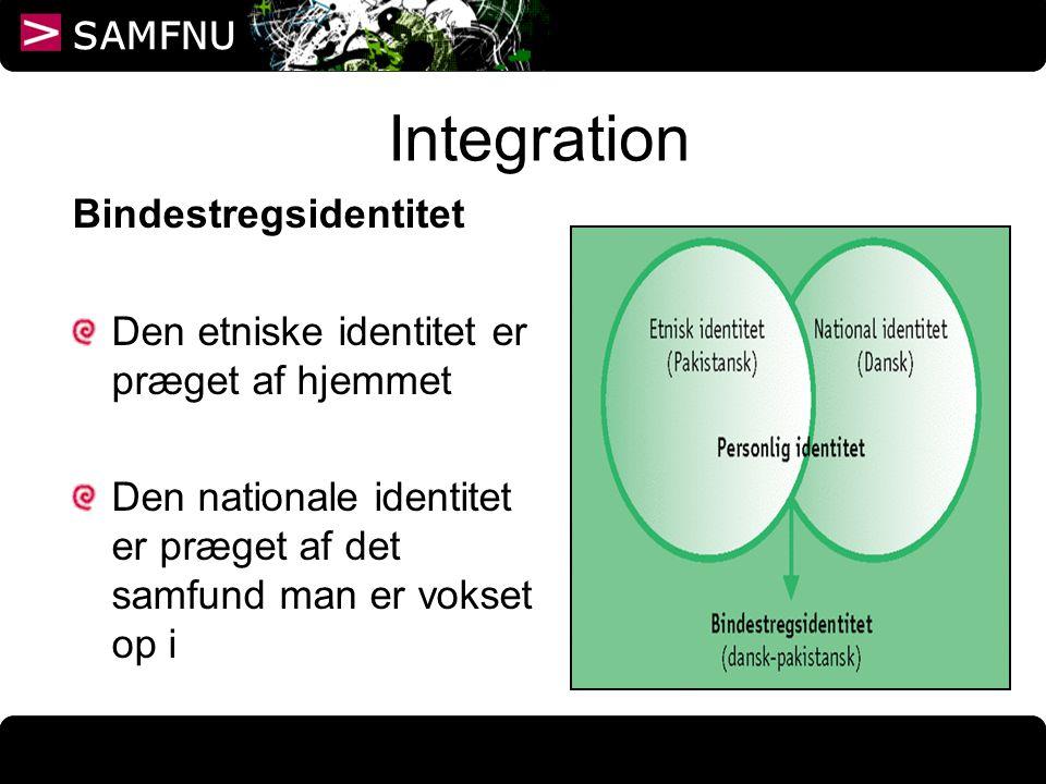 Integration Bindestregsidentitet