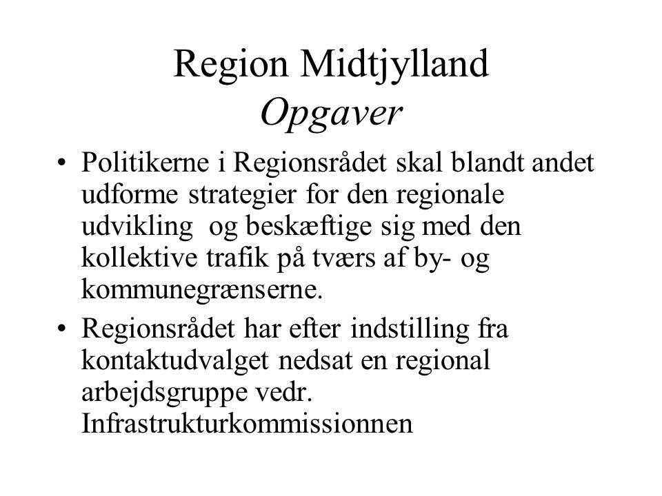 Region Midtjylland Opgaver