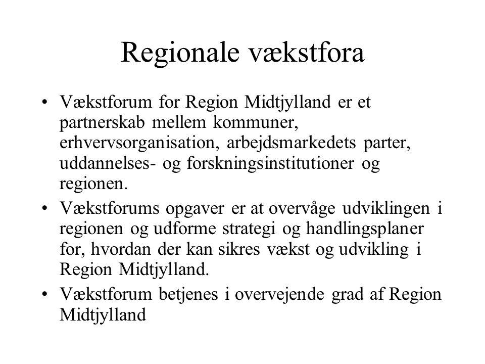Regionale vækstfora