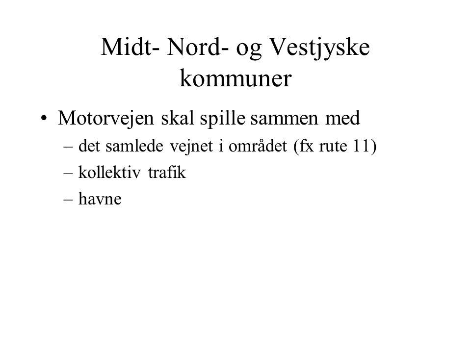 Midt- Nord- og Vestjyske kommuner